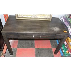 WOOD WRITING DESK WITH DRAWER 48 X 24 X 31
