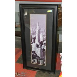 PICTURE OF NEW YORK CITY 24 X 46