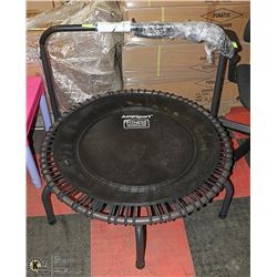 JUMPSPORT PRO FITNESS TRAMPOLINE WITH EXTENDABLE