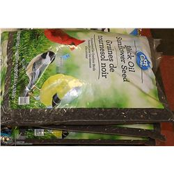 FOUR 13KG BAGS OF BLACK OIL SUNFLOWER SEED
