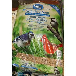 FOUR 18KG BAGS OF WILD BIRD FOOD