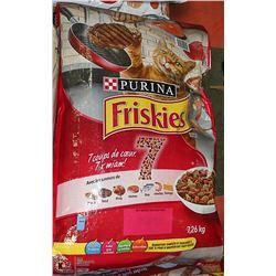 TWO 7.26KG BAGS OF FRISKIES 7 CAT FOOD