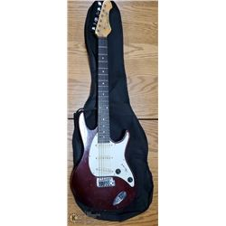 SAMICK ELECTRIC GUITAR WITH BAG