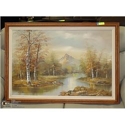 VINTAGE OIL PAINTING ARTIST SIGNED