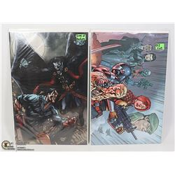 2 X COMICS G.I. JOE ARMY OF DARKNESS SPECIALS