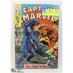 COMIC CAPTAIN MARVEL # 16 NEW COSTUME