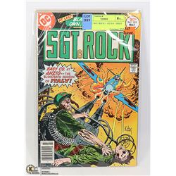 COMIC SGT. ROCK # 302 IS # 1 ISSUE