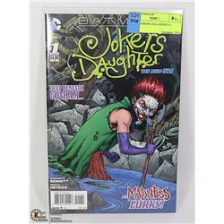 COMIC JOKER'S DAUGHTER # 1