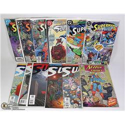 16 VARIOUS COLLECTOR SUPERMAN COMIC
