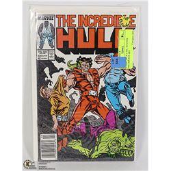 COMIC HULK # 330 , 1ST EVER MCFARLANE ART