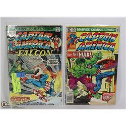 2 COLLECTOR CAPTAIN AMERICA COMICS #192, 257