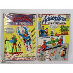 TWO 12CENTS ADVENTURE COLLECTOR COMIC #355, 356