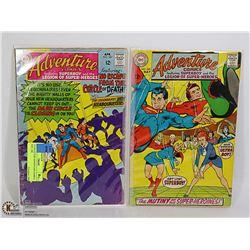 2 COLLECTOR ADVENTURE COMICS #367, 368