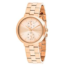 NEW MICHAEL KORS 38MM ROSEGOLD TONE MSRP $326