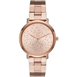 NEW MICHAEL KORS PAVE ROSE GOLD WATCH MSRP $395