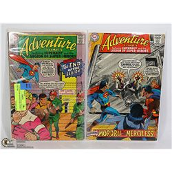 2 COLLECTOR ADVENTURE COMICS #359, 369