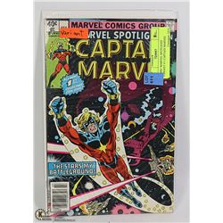 COMIC MARVEL SPOTLIGHT VARIANT # 1 CAPTAIN MARVEL