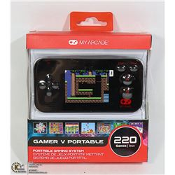 NEW MY ARCADE GO GAMER PORT V CONSOLE 220 GAMES
