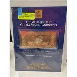 ANTIGUA AND BARBUDA GOLD BANKNOTE