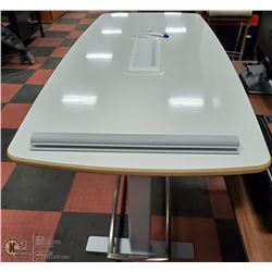 NEW ADJUSTABLE HEIGHT WHITEBOARD WORK TABLE