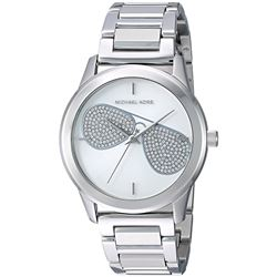 NEW MICHAEL KORS SILVER DIAL 38MM MSRP $379