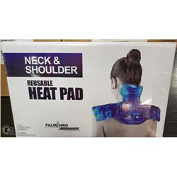 NEW PALM NRG NECK AND SHOULDER HEAT PAD