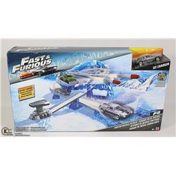 MATTEL FAST AND FURIOUS FROZEN MISSILE ATTACK