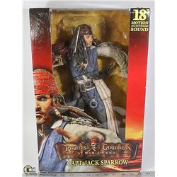 NECA PIRATES OF THE CARIBBEAN CAPTAIN JACK SPARROW