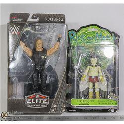 WWE ELITE COLLECTION KURT ANGLE ACTION FIGURE