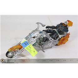 2006 HASBRO GHOSTRIDER FIGURE - MOTORBIKE LIGHTS