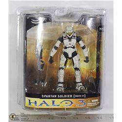 MCFARLANE HALO 3 SERIES 1 SPARTAN SOLDIER: WHITE