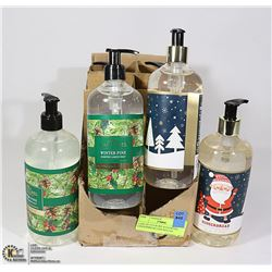 CASE OF 6 LUXURY HANDWASH GINGERBREAD AND WINTER