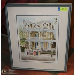 LTD ED SIGNED PRINT BY WALTER CAMPBELL 646/805