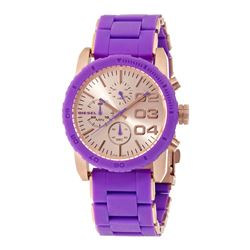 NEW DIESEL 42MM NEON PURPLE MSRP $325 WATCH
