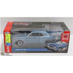 1:18 DIE CAST AUTOWORLD '67 BUICK GS 400