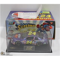 1:24 DIE CAST GORDON SUPERMAN COMIC REVELL NASCAR