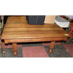 SOLID WOOD COFFEE TABLE 42 X 42 X 20