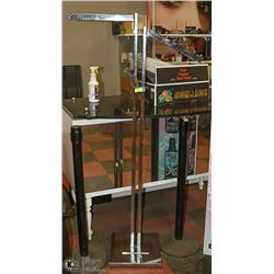 STURDY STORE CLOTHES/COAT RACK,ADJASTABLE HEIGHT