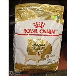 ROYAL CANIN DOG FOOD,  EXTRA LARGE 30 LB. BAG,