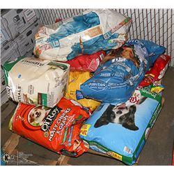 PALLET OF ASSORTED DOG FOOD