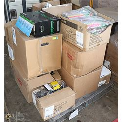 PALLET OF OFFICE SUPPLIES
