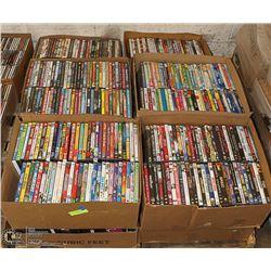 700 PLUS POPULAR DVDS