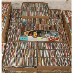 900 MIXED CDS - METAL, PUNK,HARD ROCK, METALLIC,