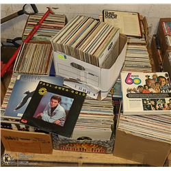 10 X BOXES OF ASSORTED RECORDS - VARIOUS ARTISTS &