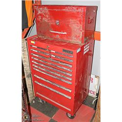 11 DRAWER ROLLER TOOL CABINET WITH KEYS AND 11