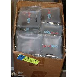 BOX OF APPROX 70 INDIVIDUAL / REUSABLE HAND,POCKET