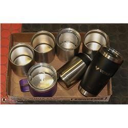 BOX OF YETI COFFEE MUGS