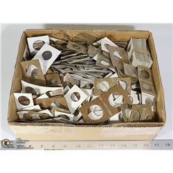 BOX OF COIN HOLDERS