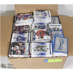 BOX OF ASSORTED HOCKEY CARDS