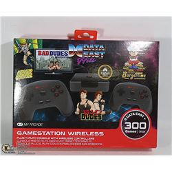 MY ARCADE GAMESTATION WIRELESS CONSOLE 300 GAMES